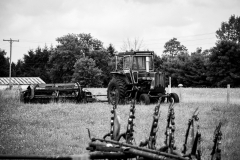 BW_Tractor_along_Road