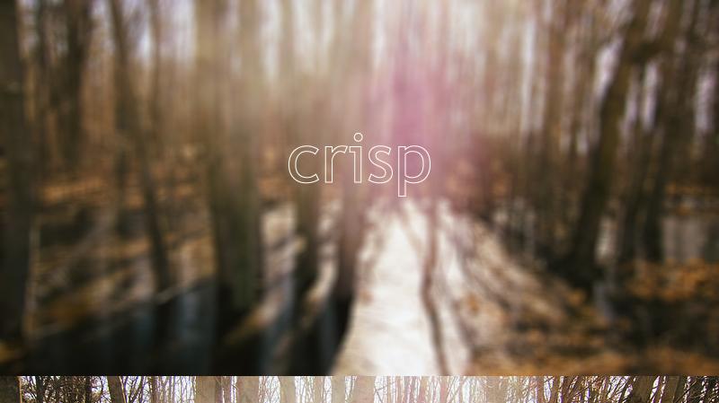 crispheading