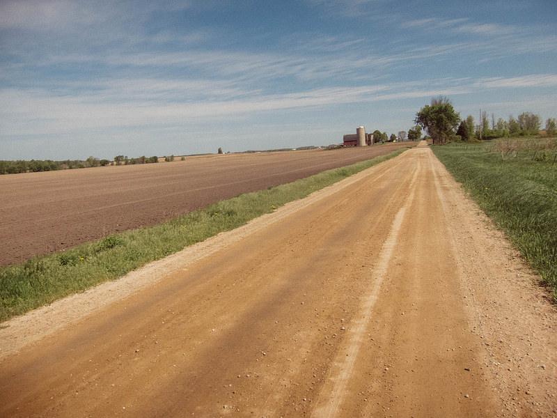 wideopendirtroadandfarmfield