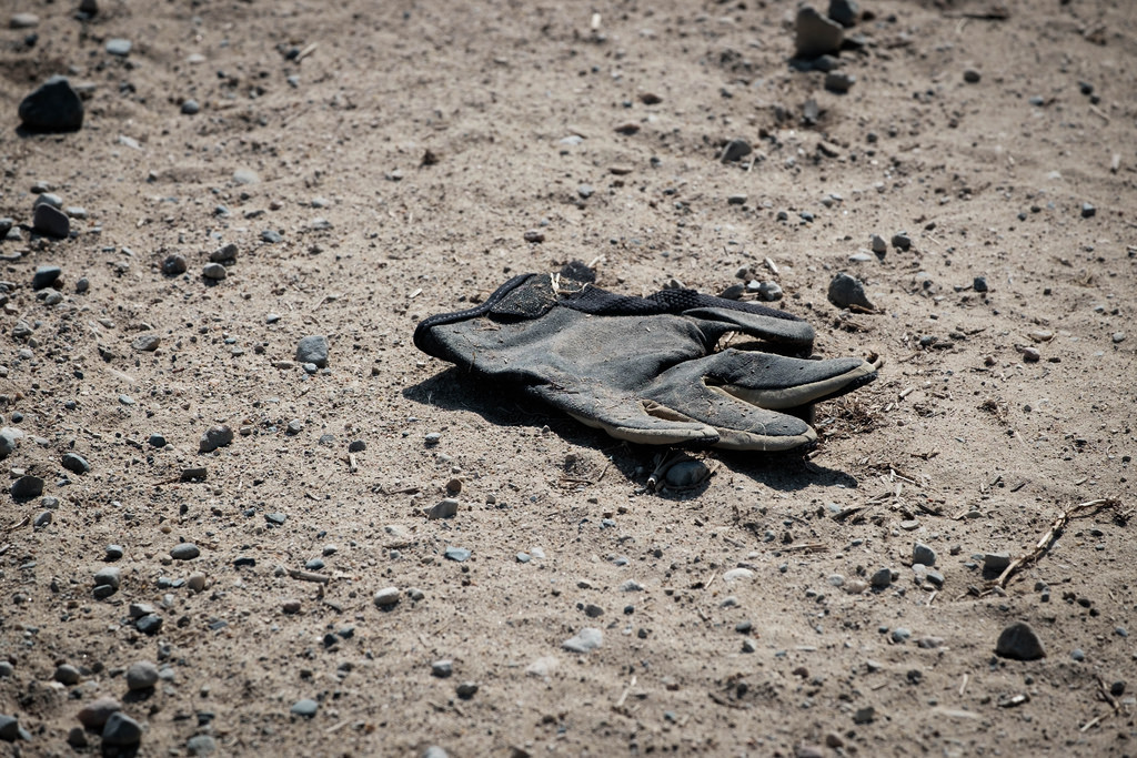 Work_Glove_On_Dirt_Road