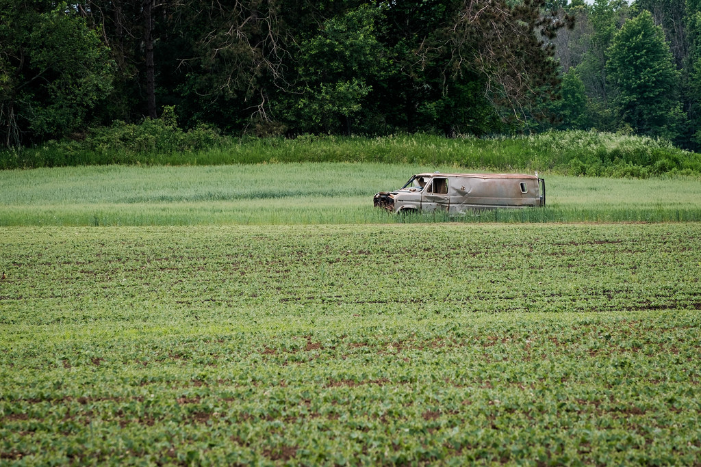 old-van-in-field