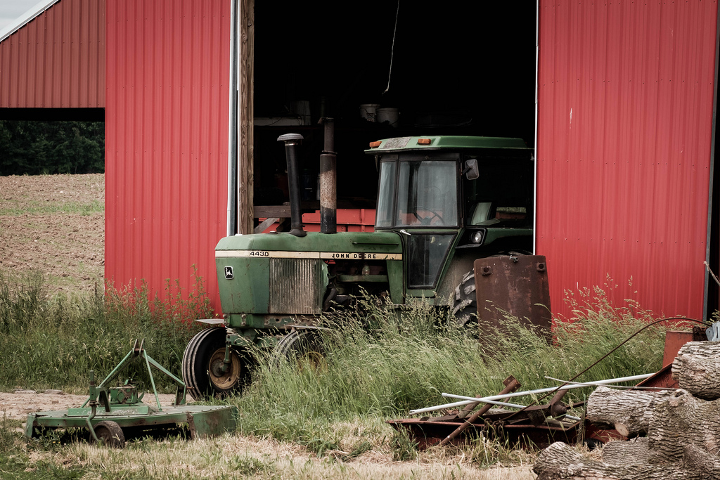 tractor-in-barn