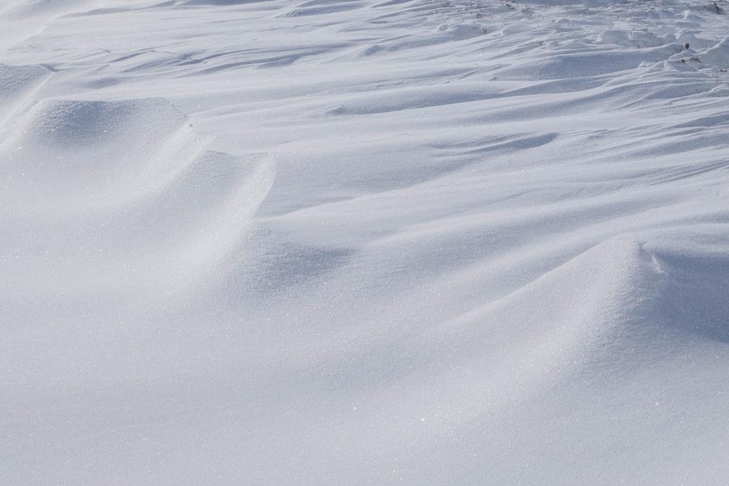 snow-drifts